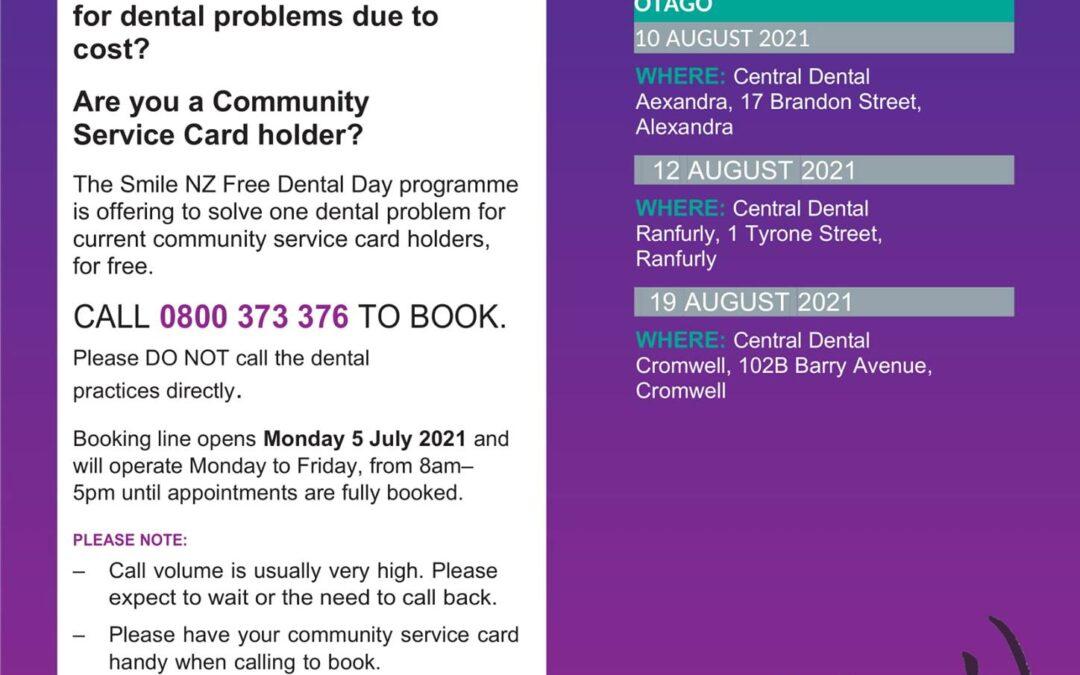 Free Dental Day 2021